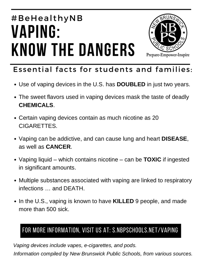 Facts about Vaping